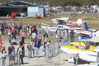 People loved the Rotorua Airport open day.