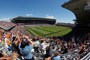 The Warriors played three games at Eden Park this season. Photo / Getty Images