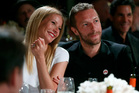 Actress Gwyneth Paltrow and Coldplay singer Chris Martin. Photo / AP
