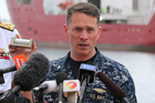 Captain Mark Matthews, a US navy officer who is in charge of the black box pinger detector, said the search area needs to be significantly reduced. Photo / AP