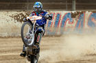 2012 Speedway World Champion Chris Holder of Australia, in action. Photo / Brett Phibbs