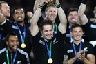All Blacks captain Richie McCaw during the Rugby World Cup final in 2011. Photo / NZ Herald