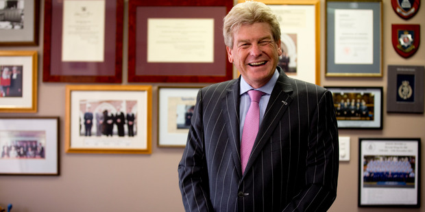 New Zealand's first celebrity judge? Simon Moore. Photo /  Dean Purcell.
