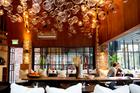 Interior of new restaurant Ortolana in Britomart. Photo / Babiche Martens.
