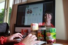 Bronwyn Alton is an online grocery shopping convert. Online supermarket shopping is one of the few growing categories for the domestic online retail sector. Photo / APN