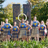 HBT140856-07 Kapa haka girls pictured during the opening. Photograph: Glenn Taylor