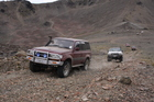 Joining expeditions organised by a four-wheel drive club is a good way for a beginner to gain off-road experience.