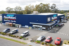 The PlaceMakers complex in Kerikeri will be auctioned.