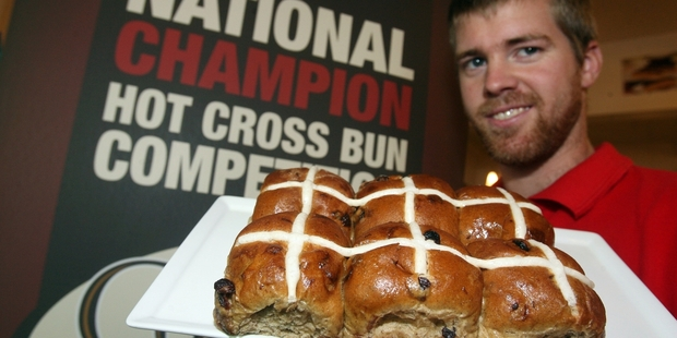 DON'T TELL: Nathanael Cressey revealed there was no secret recipe for the champion buns.PHOTO/LYNDA FERINGA