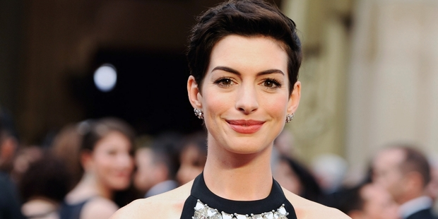 Loading Anne Hathaway is actively taking part in promoting Rio 2. Photo / AP