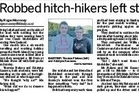 This article published in Hawke's Bay Today on Thursday led to the recover of two tourists' back packs.
