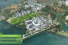 Auckland International Airport's 30 year expansion plan includes a second runway.
