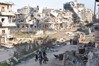 A UN survey says Syria could take 30 years to recover from the conflict. Photo / AFP