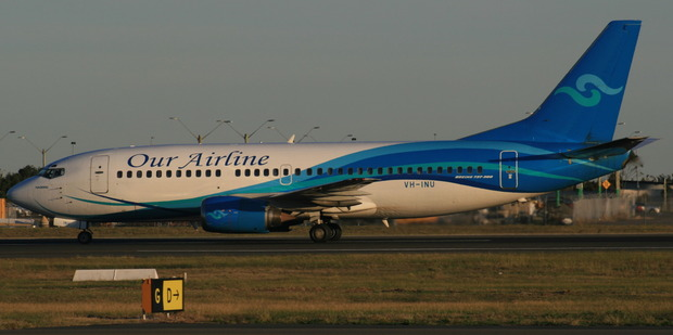 An Our Airline Boeing 737-300. Photo / Creative Commons image by Wikimedia user YSSYguy
