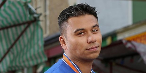 Eastenders star Ricky Norwood. Photo/BBC.