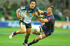 Matt Toomua is a huge threat on attack and defence for the Brumbies. Photo / Getty Images