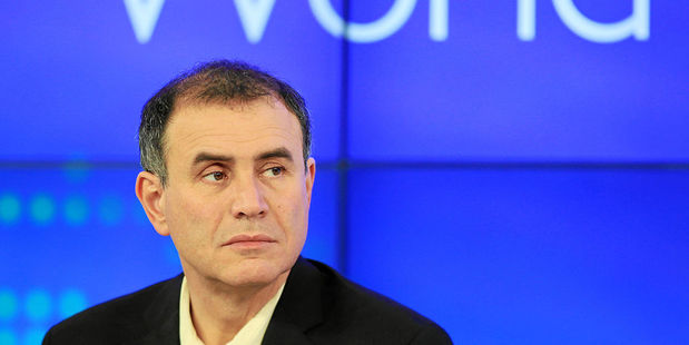 "Nouriel Roubini sees ""frothiness"" in the markets. Photo / Wikipedia"