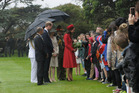Duke and Duchess of Cambridge Prince William and Catherine at Government House in Wellington. Photo / Simon Woolf