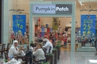 Pumpkin Patch says Middle East consumers are less accustomed to buying on promotion than those in New Zealand.