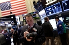 Better economic data pushed the Dow and S&P 500 higher last week. Photo / AP