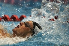 Backstroke swimmer Corey Main beat the Games standard by 16/100ths of a second in the 100m. Photo / Getty Images