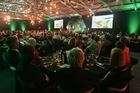 The crowd at last night's Farmer of the Year awards.