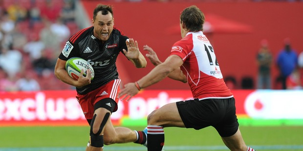Israel Dagg of the Crusaders. Photo / Getty Images