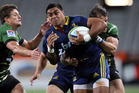 Malakai Fekitoa was rejected by the Blues, but shows star potential. Photo / Getty Images