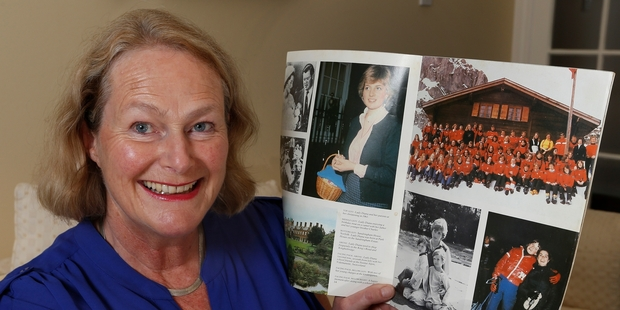 Louise Longuet said Diana liked being just one of the girls at the Institut Aplin Videmanette. Photo / Mark Mitchell