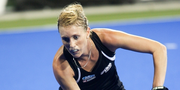MILESTONE BECKONS: Emily Naylor is on track to be the most-capped Black Sticks women';s player in New Zealand. PHOTO/Warren Buckland