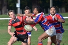 Action from last year's Taihape vs Ratana clash in Taihape, a 22-all draw. This time, Ratana will be bringing the Grand Hotel Challenge Shield with them. Photo/File
