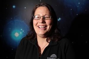 Beth van der Loeff at Auckland's Stardome. Photo / Doug Sherring