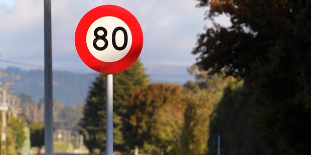 Speed limits were lowered to 80km/h.