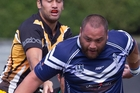 NICE RUN: Vito Peato and his Ngongotaha team will face off against Forestland tomorrow in Tokoroa. PHOTO/STEPHEN PARKER 060414SP7