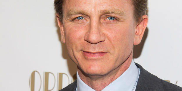 Daniel Craig has flagged the movie The Whole Truth just before filming was set to begin. Photo/AP