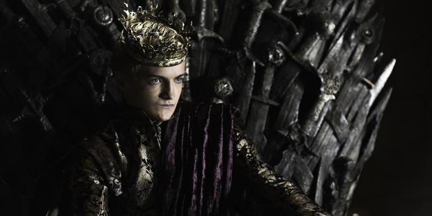 Joffrey Baratheon in Game of Thrones.