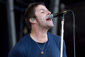 Liam Gallagher from Beady Eye performs at the Big Day Out earlier this year. Photo/Natalie Slade