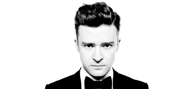 Justin Timberlake will play three shows in Auckland in October.
