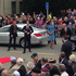 The Duke and Duchess of Cambridge arrive in Blenheim. Photo / Teuila Fuatai