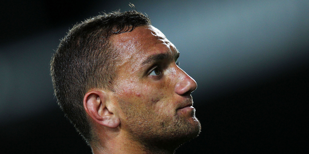 While Chiefs fans are reeling from the news Aaron Cruden will spend the next crucial phase of the competition in the stands, the defending champs' odds have barely budged. Photo / Getty Images.