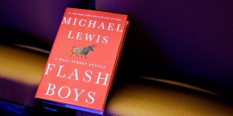 <i>Flash Boys: A Wall Street Revolt,</i> tells the story of the Canadian banker who uncovered the underhanded and illegal practices carried out by some high-frequency traders on Wall Street. Photo / AFP