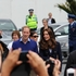 Prince William and Kate walking around Auckland. Photo / Holly Adams