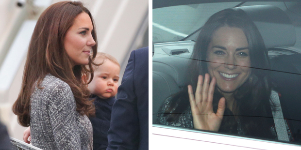The Duchess of Cambridge has been spotted wearing the same dress. Photo / News Corp Australia, NZH