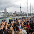The Royals greeting fans in Auckland. Photo / Michael Dudek