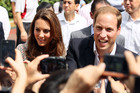 The Duchess and Duke of Cambridge. Photo / Getty Images