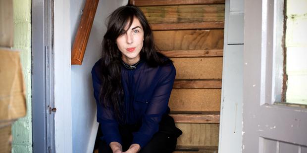Graphic designer Erin Forsyth. Photo / Babiche Martens.