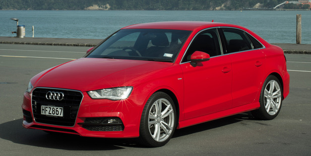 Audi has launched the A3 sedan to the NZ market this year. Picture / Ted Baghurst