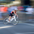 Cycling during the Elite Women's Barfoot & Thompson World Triathlon. Photo / Sarah Ivey