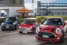 Mini Coopers. Photo / Ted Baghurst.