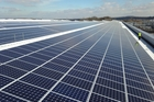 Jaguar Land Rover installs UK's largest rooftop solar panel array at its Engine Manufacturing Centre in South Staffordshire. Photo / Supplied